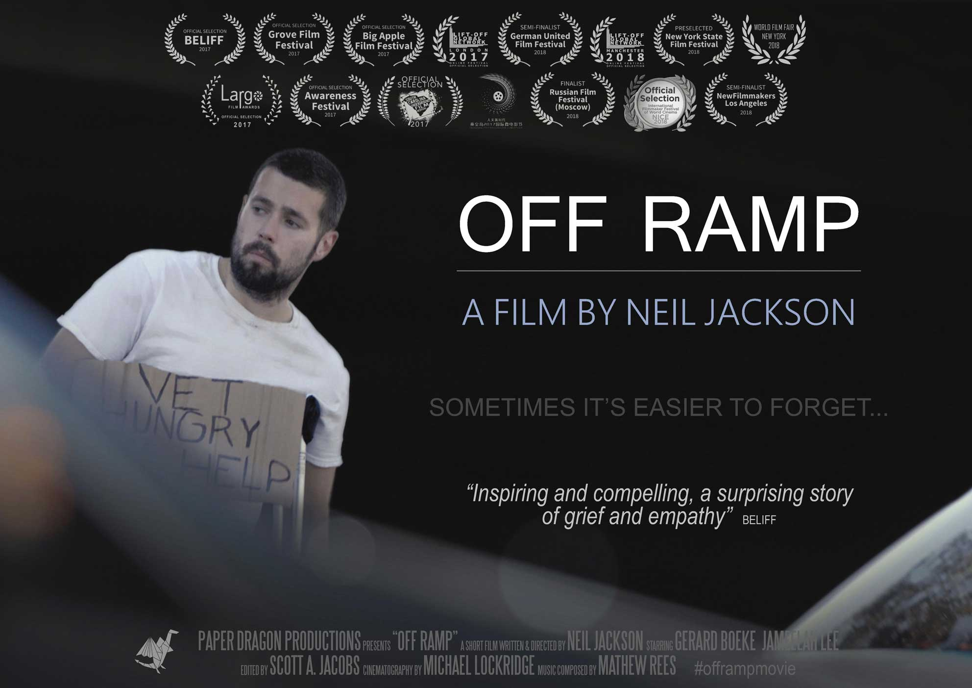 Off Ramp Poster
